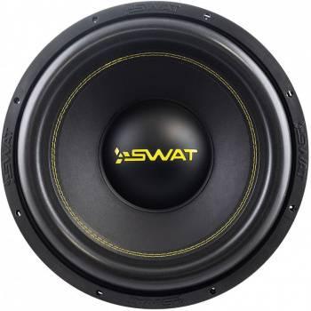 """Сабвуфер автомобильный Swat SBT-15 v.2 700Вт пассивный (38см/15"""") (плохая упаковка)"""
