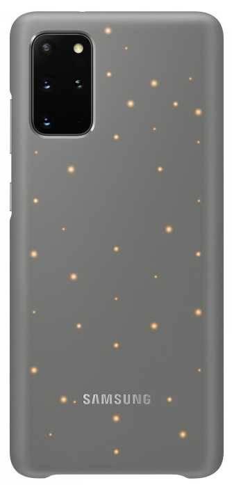 Чехол Samsung Smart LED Cover, для Samsung Galaxy S20+, серый (EF-KG985CJEGRU) - фото 1