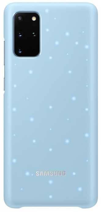 Чехол Samsung Smart LED Cover, для Samsung Galaxy S20+, голубой (EF-KG985CLEGRU) - фото 1