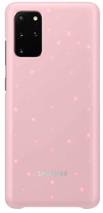 Чехол Samsung Smart LED Cover, для Samsung Galaxy S20+, розовый (EF-KG985CPEGRU) - фото 1