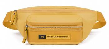 Сумка на пояс Piquadro Bios желтый, нейлон (ca2174bio/g)