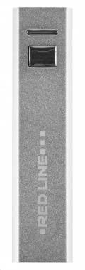 Мобильный аккумулятор REDLINE R-2600 серебристый (УТ000015557)