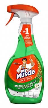 Средство очистки Mr Muscle для стекол/зеркал 500мл утренняя роса (689243)
