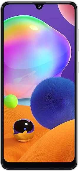Смартфон Samsung Galaxy A31 SM-A315F 128ГБ белый (SM-A315FZWVSER) - фото 1