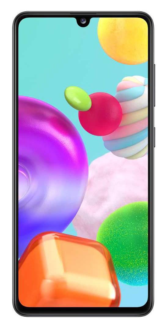 Смартфон Samsung Galaxy A41 SM-A415F 64ГБ черный (SM-A415FZKMSER) - фото 1