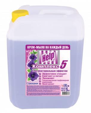 Крем-мыло жидкое Help 5л (5-0395)