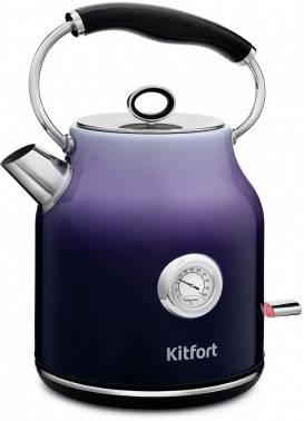 Чайник электрический Kitfort КТ-679-3 фиолетовый