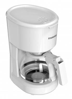 Кофеварка капельная Starwind STD0611 белый