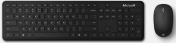 Комплект клавиатура+мышь Microsoft Bluetooth Desktop черный/черный (qhg-00011)