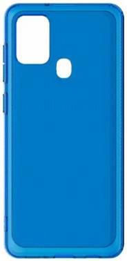 Чехол Samsung araree A cover, для Samsung Galaxy A21s, синий (GP-FPA217KDALR)