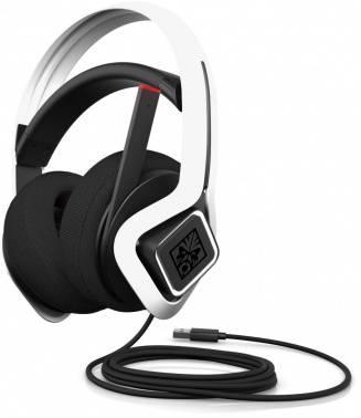 Наушники с микрофоном HP OMEN Mindframe2 белый/черный (6MF36AA)