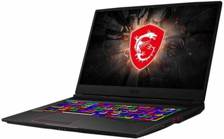 "Ноутбук 17.3"" MSI GE75 Raider 10SFS-268RU черный (9S7-17E912-268) - фото 1"