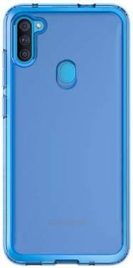 Чехол Samsung araree A cover, для Samsung Galaxy A11, синий (GP-FPA115KDALR)