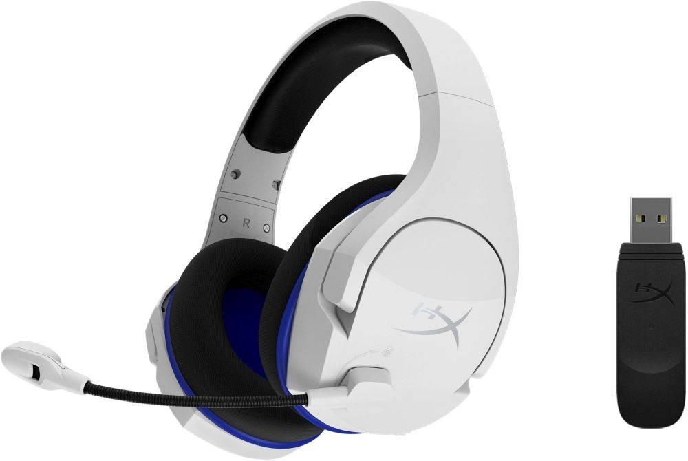 Наушники с микрофоном HyperX Cloud Stinger Core белый/черный (HHSS1C-KB-WT/G) - фото 1