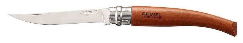 Нож Opinel Slim Bubinga №10 10VRI коричневый (000013) - фото 1