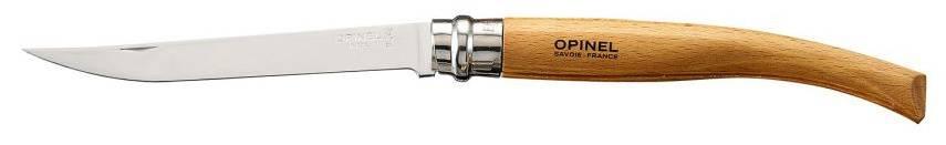 Нож Opinel Slim Beechwood №12 12VRI дерево (000518) - фото 1