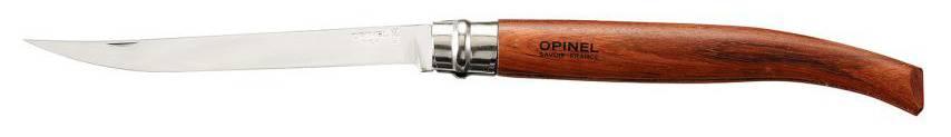 Нож Opinel Slim Bubinga №15 15VRI коричневый (243150) - фото 1