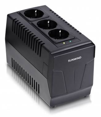 Стабилизатор напряжения SunWind AVR-1500 (плохая упаковка)