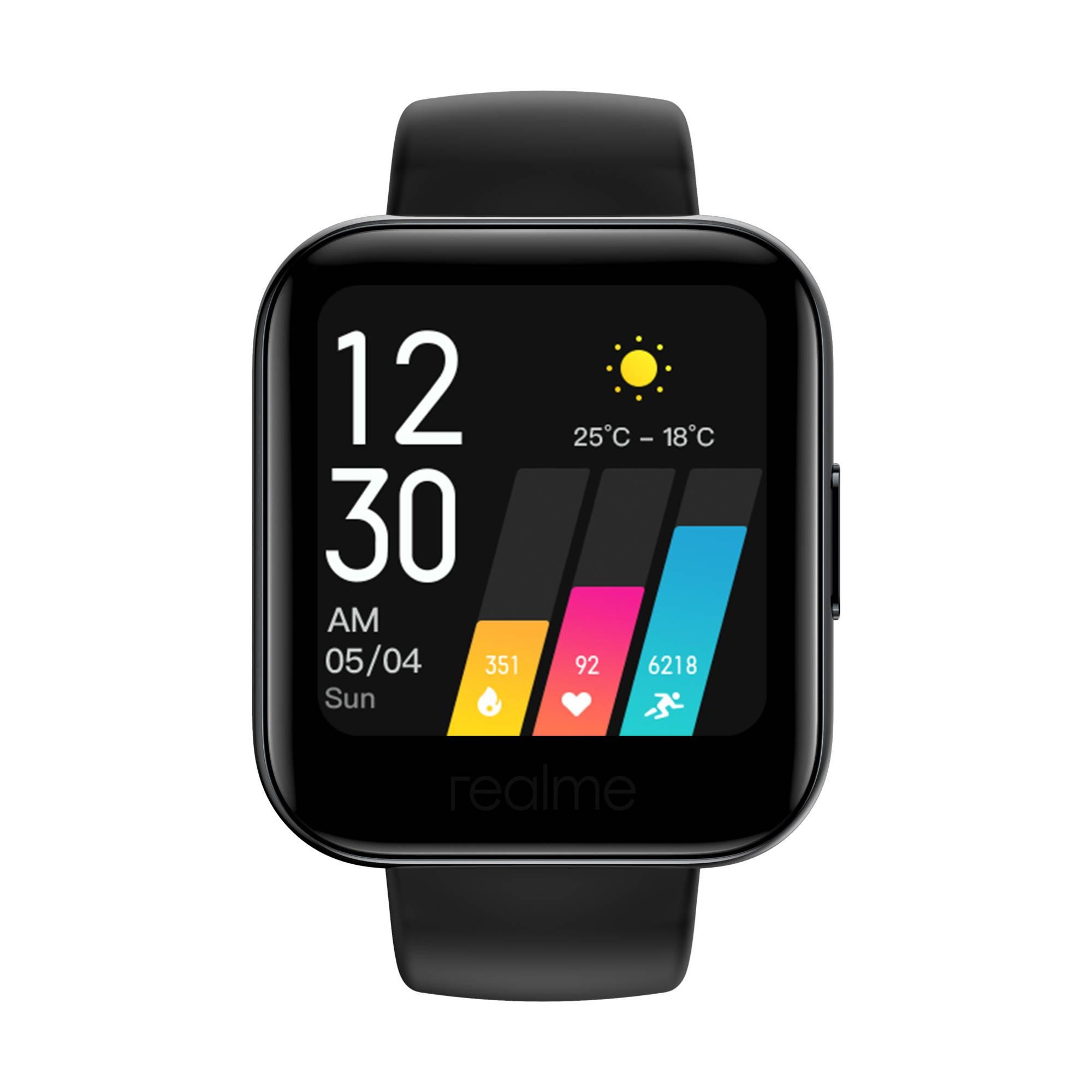 Смарт-часы REALME Watch черный (4811934) - фото 1