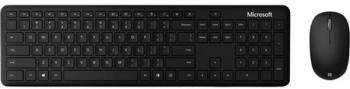 Комплект клавиатура+мышь Microsoft Bluetooth Desktop For Business черный/черный (1ai-00011)