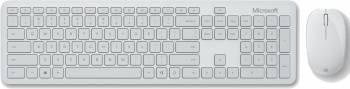 Комплект клавиатура+мышь Microsoft Bluetooth Desktop светло-серый/светло-серый (qhg-00041)