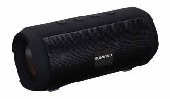 Колонка портативная SunWind SW-PS101 черный (плохая упаковка)