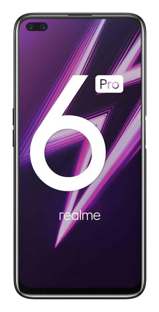 Смартфон Realme 6 Pro RMX2063 128ГБ красный (5973879) - фото 1