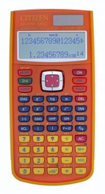Калькулятор научный Citizen SR-270ХLOLORCFS оранжевый