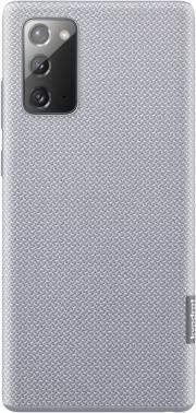 Чехол Samsung Kvadrat Cover, для Samsung Galaxy Note 20, серый (EF-XN980FJEGRU)