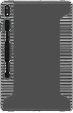 Чехол Samsung WITS Soft Cover Clear, для Samsung Galaxy Tab S7+, прозрачный (GP-FPT976WSATR)