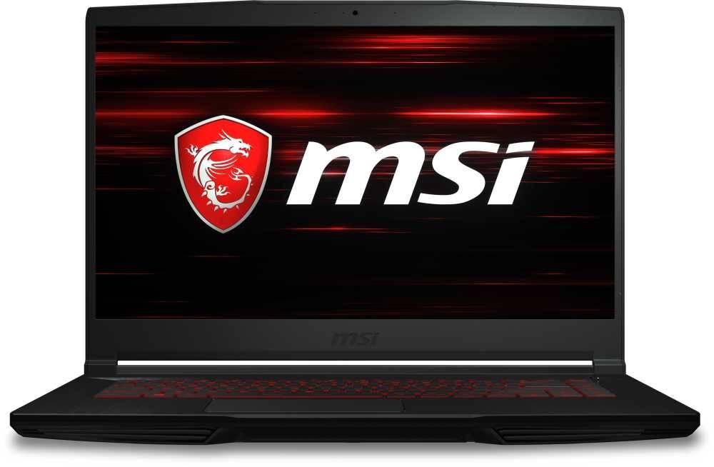 "Ноутбук 15.6"" MSI GF63 Thin 9SCSR-1026XRU черный (9S7-16R412-1026) - фото 1"