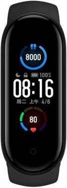Фитнес-трекер Xiaomi Mi Band 5 XMSH10HM\HMSH01GE AMOLED черный/черный