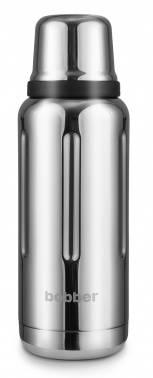 Термос Bobber Flask-1000 серебристый (FLASK-1000/GLOSSY)