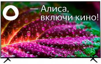 Телевизор Hyundai Яндекс.ТВ H-LED65FU7003 черный