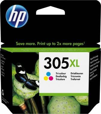 Картридж HP 305XL многоцветный (3ym63ae)