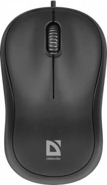 Мышь Defender Patch MS-759 черный (52759) (плохая упаковка)