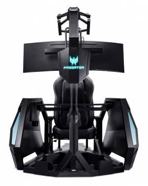 Кресло игровое Acer Predator Thronos Air PGC 900 черный/черный (gp.g0c11.002(pgc900))