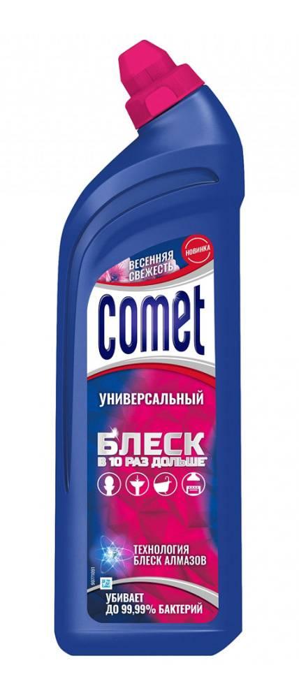 Гель чистящий Comet 850мл весенняя свежесть бутылка (0001007317) - фото 1