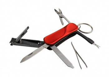 Нож AceCamp 2502 красный