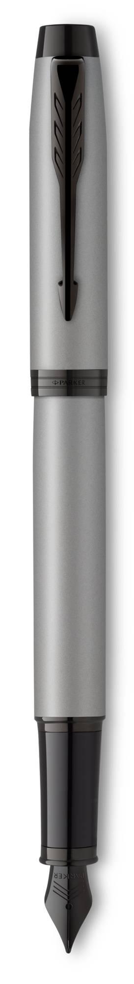 Ручка перьевая Parker IM Achromatic серый матовый (2127619) - фото 1