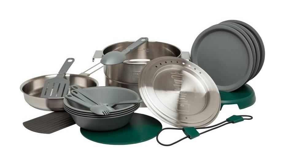 Набор посуды Stanley Adventure 10-02479-025, 21 предмет - фото 1