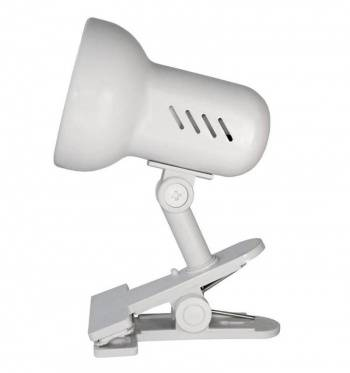 Светильник настольный Camelion H-035 С01 белый (7198)