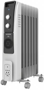 Масляный радиатор Hyundai H-HO-8-07-UI843 черный