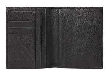 Обложка для паспорта Piquadro Modus черный, кожа натуральная (pp1660mo/n)