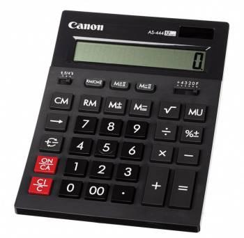 Калькулятор бухгалтерский Canon AS-444 II черный