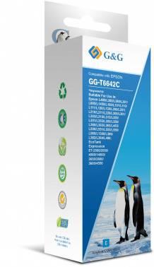 Чернила G&G GG-T6642C голубой фл. 100мл для Epson L100, L110, L120, L130, L132, L210, L222