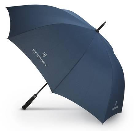 Зонт трость Victorinox 9.6079 полуавтоматический синий - фото 1