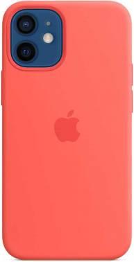 Чехол Apple Silicone Case with MagSafe, для Apple iPhone 12 mini, розовый цитрус (MHKP3ZE/A)