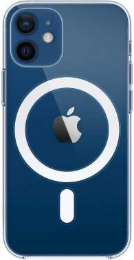 Чехол Apple Clear Case with MagSafe, для Apple iPhone 12 mini, прозрачный (MHLL3ZE/A)