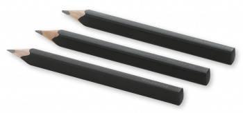 Набор карандашей чернографитовых Moleskine Drawing черный HB/2B (EW2PG001A)